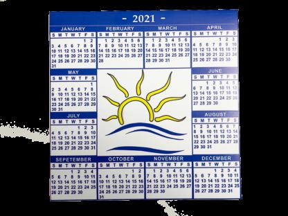 Calendar Magnet for 2021